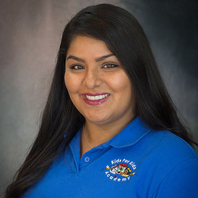 Adriana Arcos happy teacher at a Preschool & Daycare/Childcare Center serving Miami, FL.