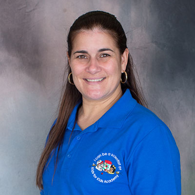 Cynthia Mesa happy teacher at a Preschool & Daycare/Childcare Center serving Miami, FL.