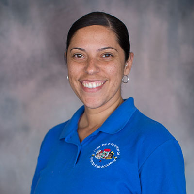 Tayra Garcia-Vazquez happy teacher at a Preschool & Daycare/Childcare Center serving Miami, FL.